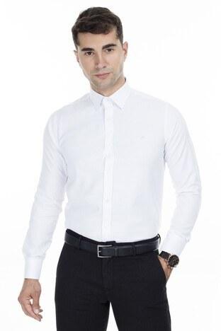 Abbate Erkek Uzun Kollu Gömlek 1GM92UK1298S900 BEYAZ