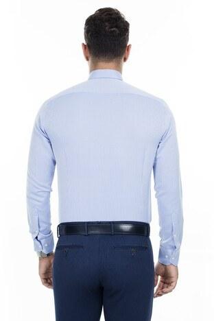 Abbate Erkek Uzun Kollu Gömlek 1GM92UK1299S580 KOYU MAVİ