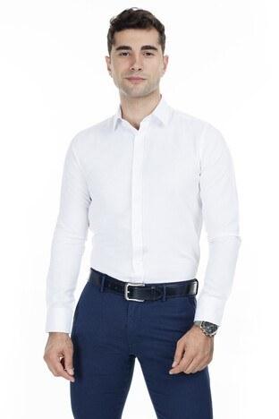 Abbate Erkek Uzun Kollu Gömlek 1GM92UK1299S900 BEYAZ