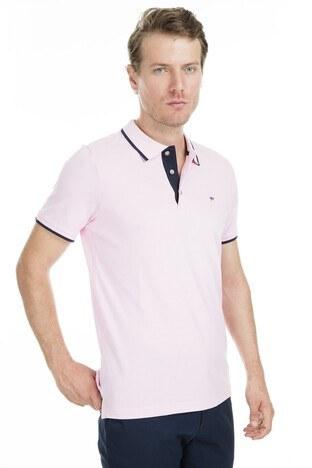 Abbate Polo Erkek T Shirt 5913020 PEMBE