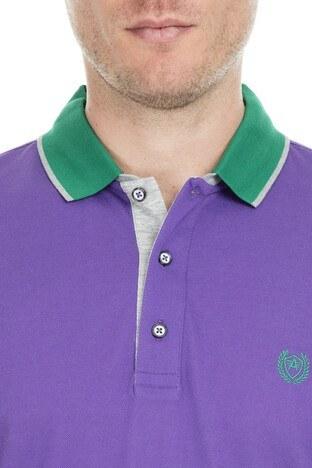 Abbate Polo Erkek T Shirt 5913021 MOR