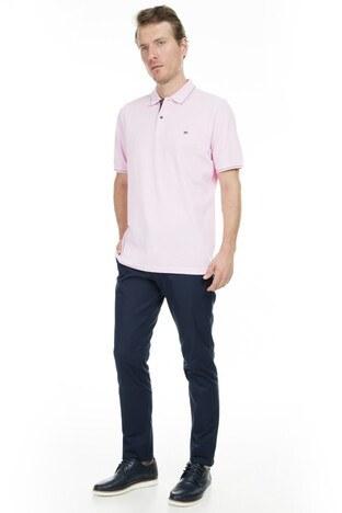 Abbate Polo Erkek T Shirt 5913022 PEMBE