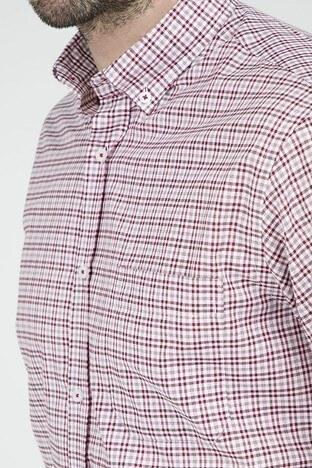 Abbate Tek Cepli Erkek Uzun Kollu Gömlek 1GM91UK1263R 600 KIRMIZI
