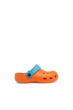 Akınalbella Çocuk Sandalet E012F00 TURUNCU-TURKUAZ