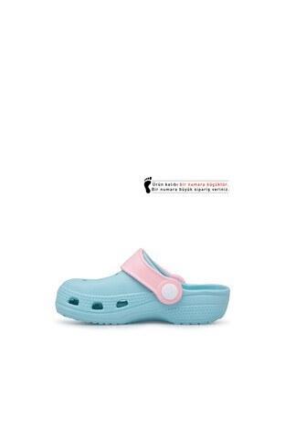 Akınalbella Çocuk Sandalet E012P000 MİNT-PEMBE