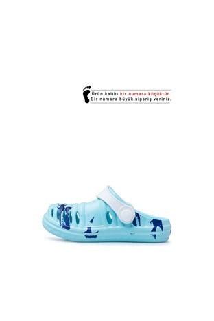 Akınalbella Çocuk Sandalet E206P004 MAVİ-BEYAZ