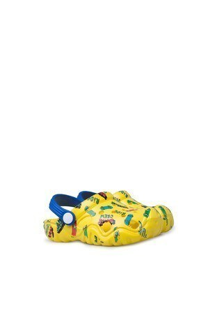 Akınalbella Çocuk Sandalet E400P005 Sarı-Mavi