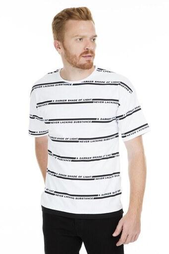 Breezy Erkek T Shirt 2080012 BEYAZ