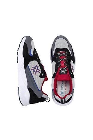 Buckhead Esnek ve Rahat Taban Award Multi Erkek Ayakkabı BUCK4018 B GRİ-SİYAH