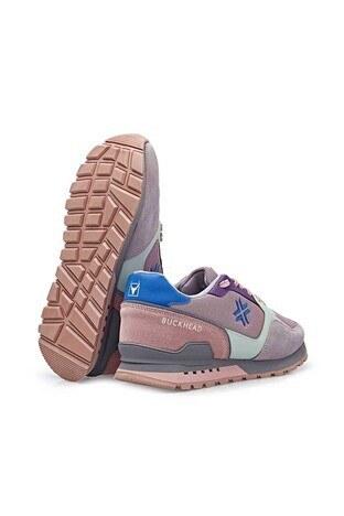 Buckhead Esnek ve Rahat Taban Fundemantal Multi Bayan Ayakkabı BUCK4023 PEMBE-PUDRA