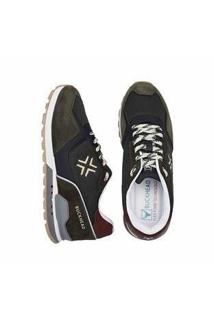 Buckhead Esnek ve Rahat Taban Fundemantal Multi Erkek Ayakkabı BUCK4023 B HAKİ-YEŞİL