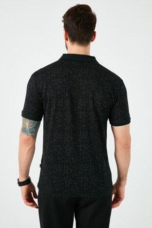 Buratti Yaka T Shirt Erkek Polo 5968005 SİYAH-AÇIK MAVİ