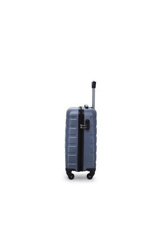 Buratti 3 lü Unisex Valiz Set 533TITANIC AÇIK MAVİ