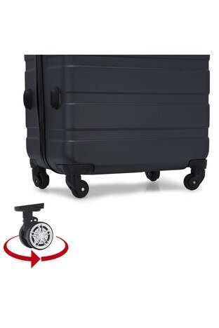 Buratti 3 lü Unisex Valiz Set 533TITANIC FÜME