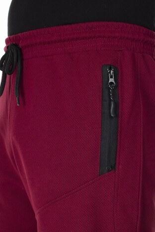 Buratti Arma Detaylı Cepli Slim Fit Erkek Short 1597026 BORDO