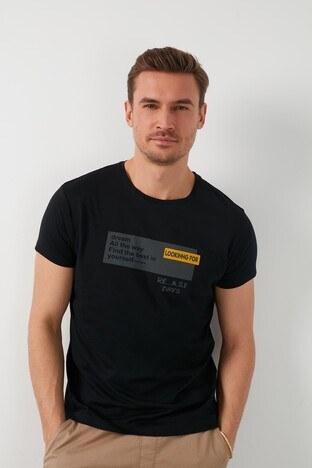 Buratti Erkek T Shirt 541LOOKINGFOR SİYAH