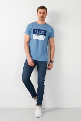 Buratti Erkek T Shirt 541READY İNDİGO
