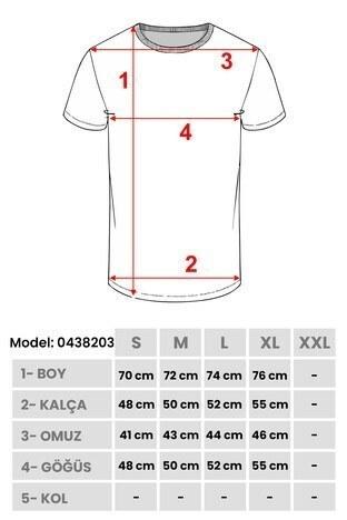 Buratti Bisiklet Yaka Erkek T Shirt 0438203 KİREMİT