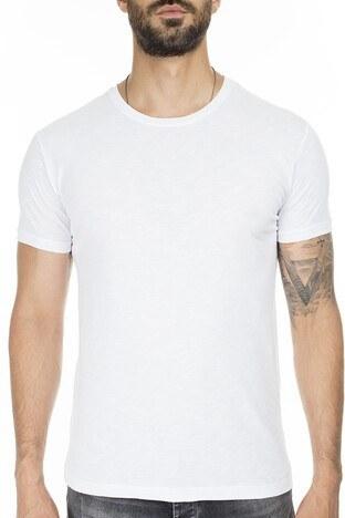 Buratti Bisiklet Yaka Erkek T Shirt 4362084 BEYAZ