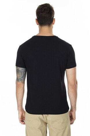 Buratti Bisiklet Yaka Erkek T Shirt 4362084 SİYAH