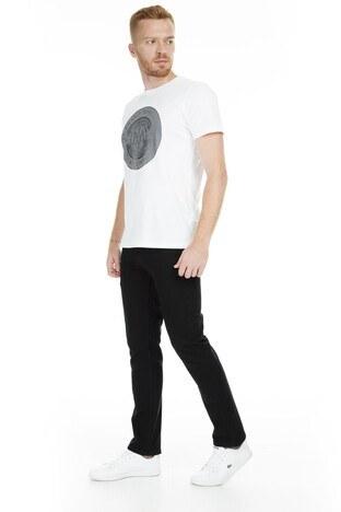 Buratti - Buratti Boru Paça Jeans Erkek Kot Pantolon B7144F232PORTO SİYAH