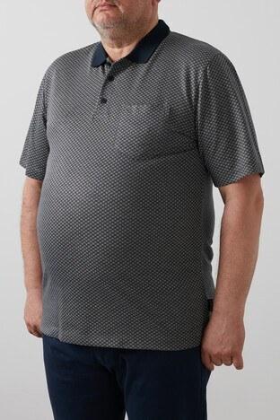 Buratti Büyük Beden T Shirt Erkek Polo 4362057B LACİVERT