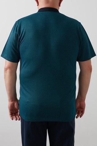 Buratti Büyük Beden T Shirt Erkek Polo 4362057B Malanit