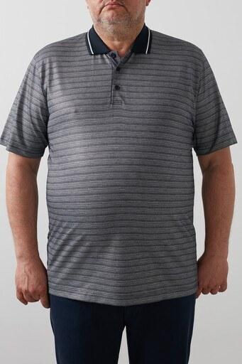 Buratti Büyük Beden T Shirt Erkek Polo 4362060B LACİVERT