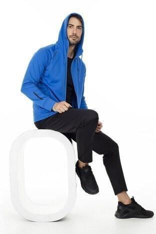 Buratti Cep Detaylı Kapüşonlu Slim Fit Erkek Sweat 5658005S SAKS