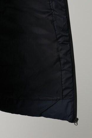 Buratti Çıkarılabilir Kapüşonlu Dik Yaka Uzun Şişm Erkek Mont 5761020 LACİVERT