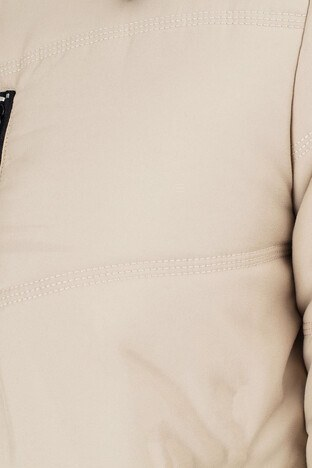 Buratti Çıkarılabilir Kapüşonlu Ekstra Slim Fit Erkek Mont 556B5050 VİZON