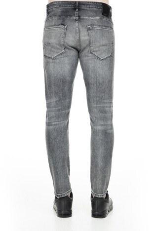 Buratti Dar Kesim Jeans Erkek Kot Pantolon 7178F233BARTEZ GRİ