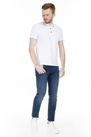 Buratti - Buratti Dar Kesim Jeans Erkek Kot Pantolon 7299N905ARTOS LACİVERT