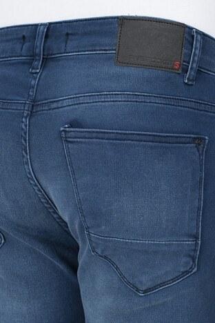 Buratti Dar Kesim Jeans Erkek Kot Pantolon 7299N905ARTOS LACİVERT