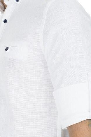 Buratti Düğmeli Yaka Erkek Gömlek CF20S111498 BEYAZ