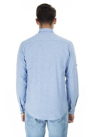 Buratti Düğmeli Yaka Erkek Gömlek CF20S111912 SAKS