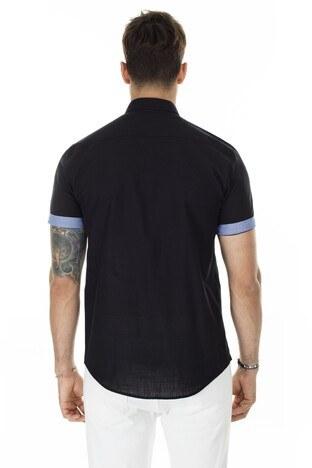 Buratti Düğmeli Yaka Erkek Gömlek CF20S112546 SİYAH
