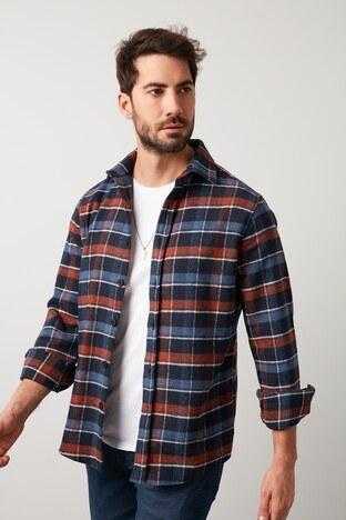 Buratti - Buratti Erkek Gömlek 5910080 ORANGE