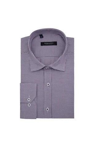 Buratti - Buratti Erkek Uzun Kollu Gömlek 50101 BORDO