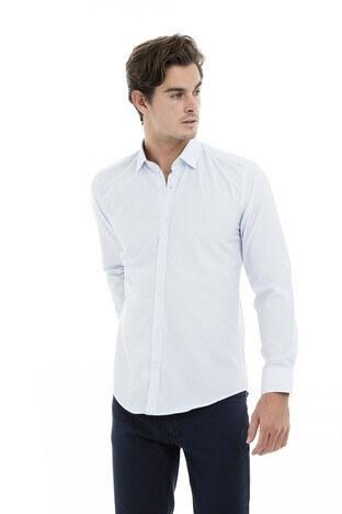 Buratti - Buratti Erkek Uzun Kollu Gömlek 50104 AÇIK MAVİ
