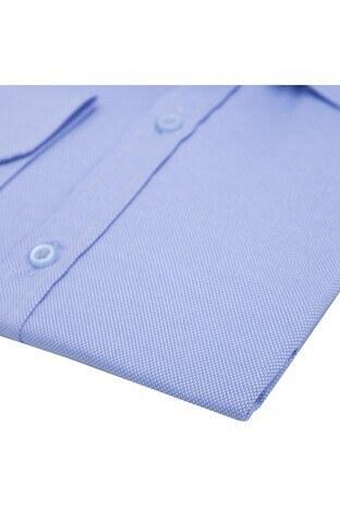 Buratti Erkek Uzun Kollu Gömlek 50105 MAVİ