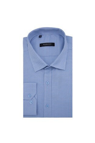 Buratti - Buratti Erkek Uzun Kollu Gömlek 50110 MAVİ