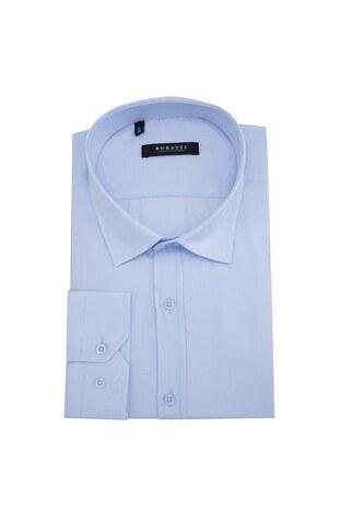Buratti - Buratti Erkek Uzun Kollu Gömlek 50115 B AÇIK MAVİ