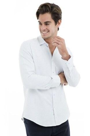 Buratti - Buratti Erkek Uzun Kollu Gömlek 50119 BEYAZ