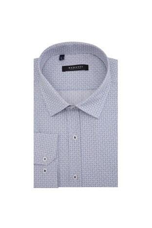 Buratti - Buratti Erkek Uzun Kollu Gömlek 50120 AÇIK GRİ