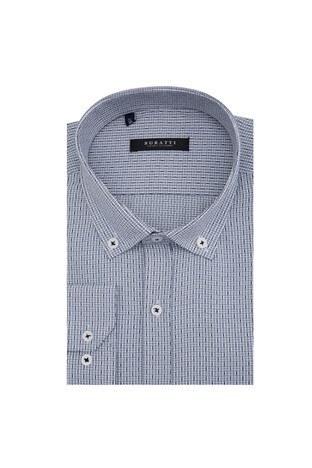 Buratti - Buratti Erkek Uzun Kollu Gömlek 50128 SİYAH