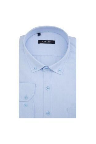Buratti - Buratti Erkek Uzun Kollu Gömlek 50130 B AÇIK MAVİ