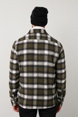 Buratti Erkek Gömlek 5910083 HAKİ