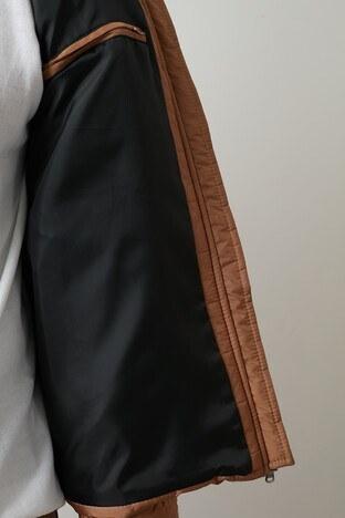 Buratti Dik Yaka Şişme Erkek Mont 4373142W0 CAMEL