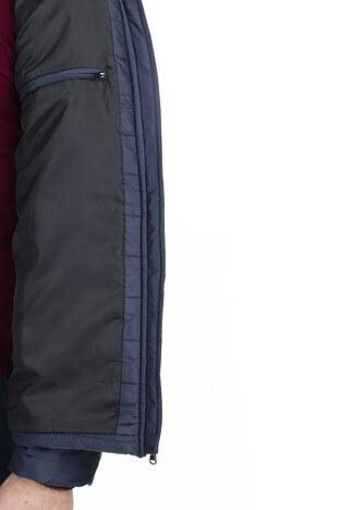 Buratti Fermuarlı Slim Fit Dik Yaka Şişme Erkek Mont 4373142W0 LACİVERT